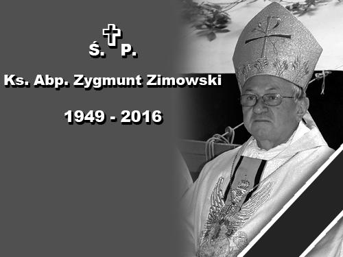 EEEENie żyje Ksiądz Arcybiskup Zygmunt Zimowski
