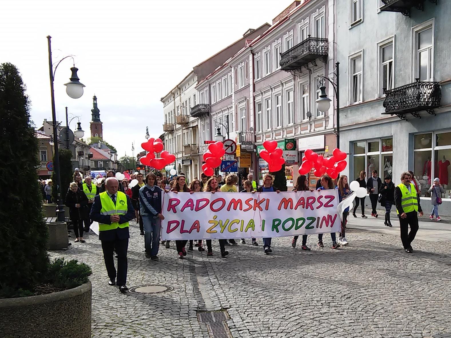 EEEEWkrótce VII Radomski Marsz dla Życia i Rodziny